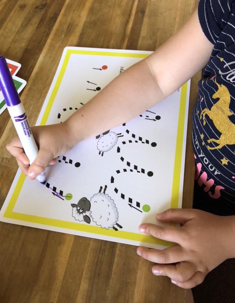 Letter Basics pre writing guide