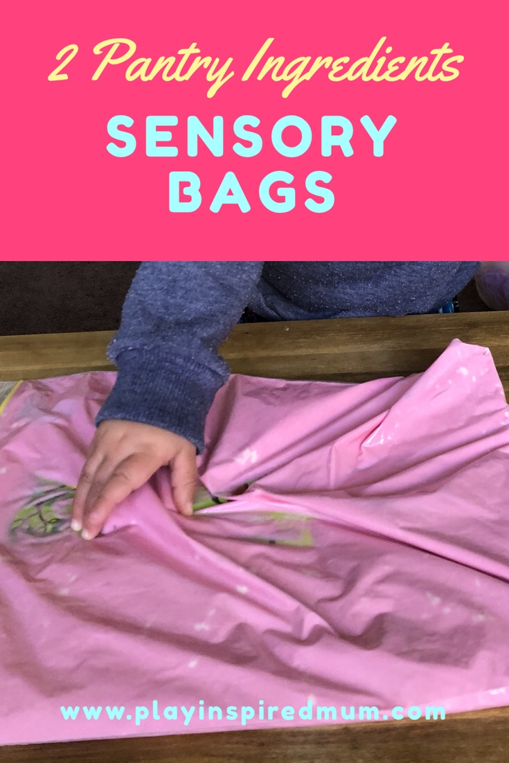 Mess Free Sensory Discovery Bags for toddlers