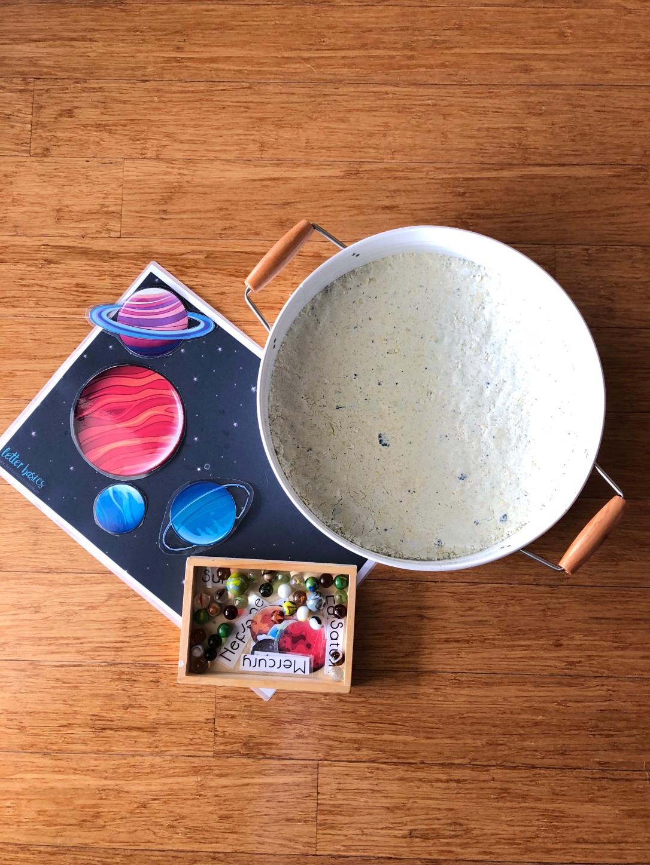 Toddler safe moon dust