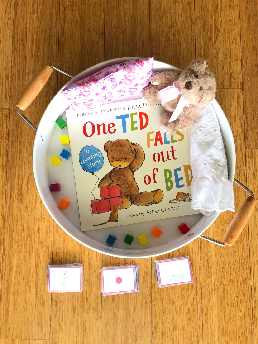 One Ted Falls out of Bed Story Tray