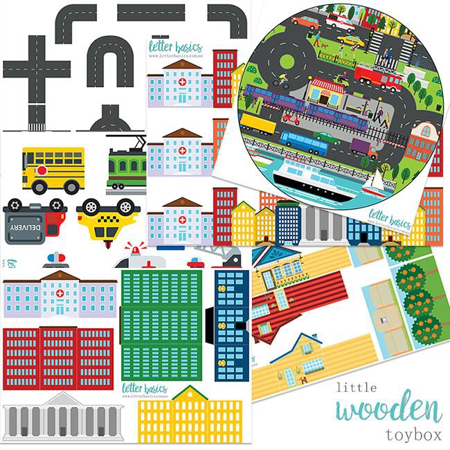 Transport Small World Tray Liner Pack