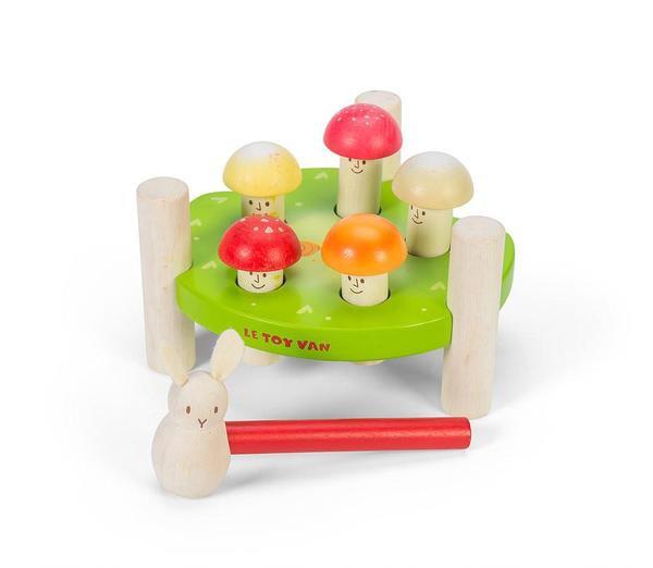 Le Toy Van Petilou Hammering Mr Mushroom