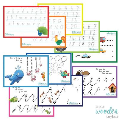 Letter Basics Kindy Set of 5
