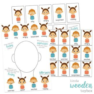 Letter Basics Emotions Activity Pack