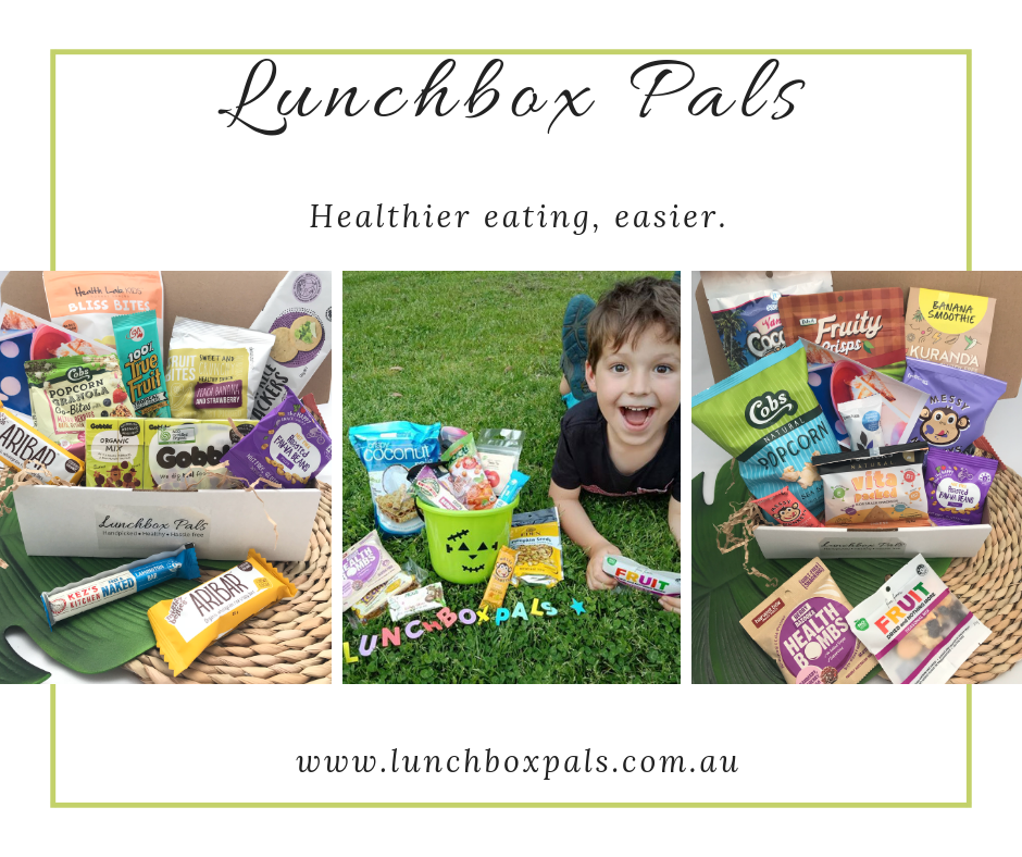 Lunchbox Pals Healthy Lunchbox Snacks on Subscription