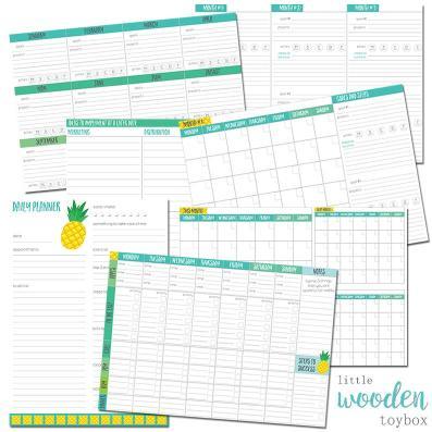 Letter Basics Business Planner