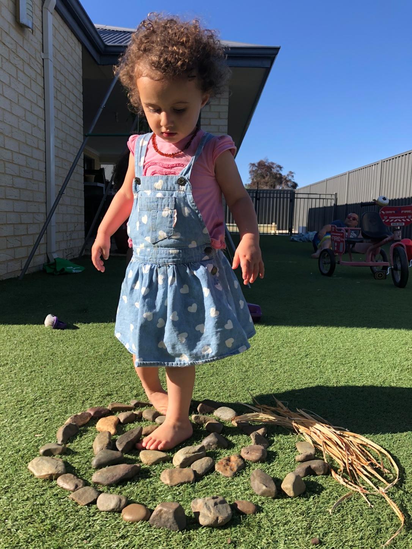 River Rock Sensory Play