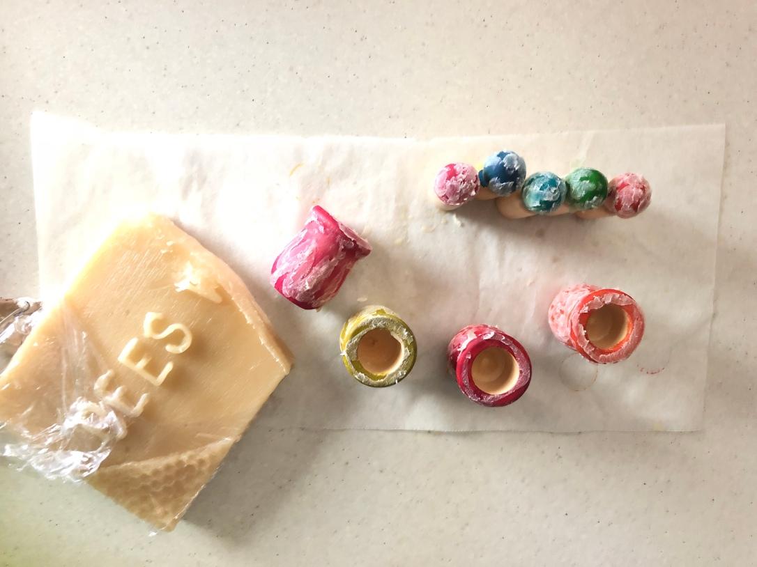 Beeswax Sealing Montessori DIY