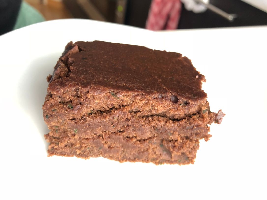 Egg and Dairy free Zucchini Brownie